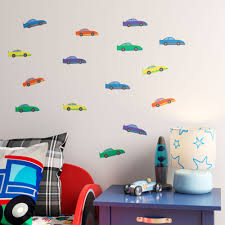 Zoomie Kids Race Cars Printed Wall Decal Wayfair