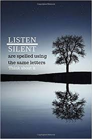 com listen silent are spelled using the same letters