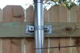 Oz Post Steel 2 Wood Fence Bracket Wap 238 50100 At The Home Depot Mobile