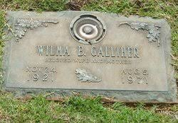 Wilma Jeanette Bowman Galliher (1921-1971) - Find A Grave Memorial
