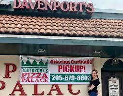 Davenport's Pizza Palace - Reviews - Birmingham, Alabama - Menu ...