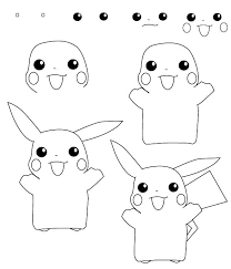 How To Draw Pokemon Learn How To Draw A Pokemon With Simple Step