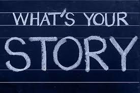HD wallpaper: What's your story, chalkboard, blogging, believe ...