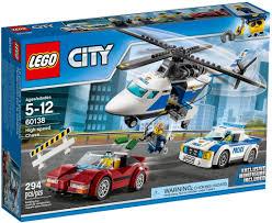 Đồ chơi lắp ráp LEGO City 60138 - Đội Máy Bay và Xe Cảnh Sát (LEGO ...