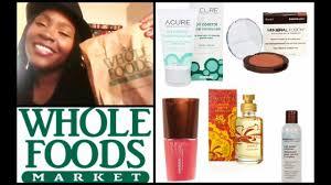 whole foods market beauty haul