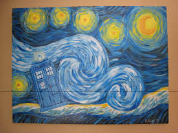 starry night tardis wallpaper starry