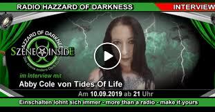"""Abby Cole von Tides Of Life im Interview - Vorstellung der neuen EP """"The  Ritual"""" by Dirk_Busse_Musik   Mixcloud"""