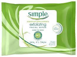 simple wipes exfoliating walgreens