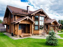Деревянные дома из бревна и бруса в Беларуси, Минске. Купить ...