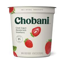 chobani non fat greek yogurt