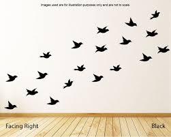 Flying Birds Wall Decals Set 21 Bird Wall Stickers Nursery Etsy