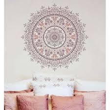 Prosperity Mandala Stencil Mandala Wall Stencil Stencils Wall Mandala Stencils