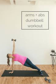 arms abs dumbbell burnout 8