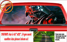Star Wars Darth Vader Passenger Series Perforated Pvc Window Decal Graphics Car For Sale Online Ebay