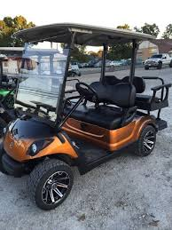 gas golf cart custom paint wheels seats