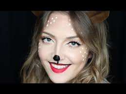 easy reindeer makeup in
