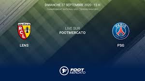 Live Lens - PSG la 5e journée de Championnat National U19 2020/2021 27/9