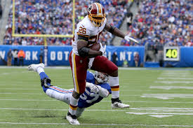 "Still going strong"": Redskins exercise 2020 option on RB Adrian ..."