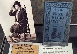 "Bcast_Md on Twitter: ""Ida Bailey Allen was the author of more than 50  #cookbooks. The book displayed here, 104 Prize #Radio Recipes, was  published in 1926 in conjunction with her program ""The"