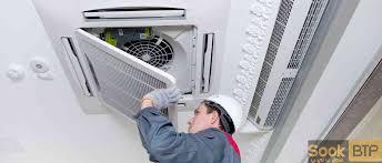 climatisation centrale sook btp