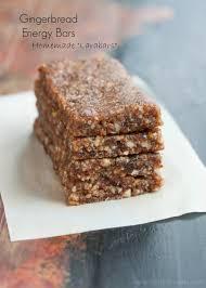 gingerbread energy bars vegan raw