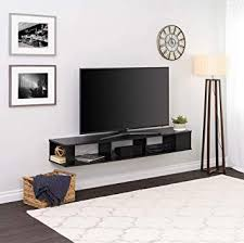 prepac 70 wide wall mounted tv stand