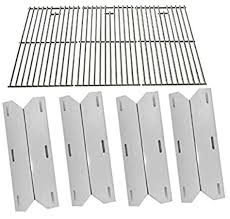 Amazon Com Repair Kit For Jenn Air Lowes 720 0062 Lp 720 0100 Ng 720 0141 Lp 720 0164 720 0171 Sam S Member S Mark Jenn Air Includes 4 Heat Plate Stainless Steel Cooking Grates Set Of 3 Garden Outdoor