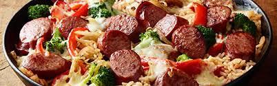 easy smoked sausage skillet recipe