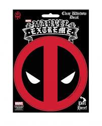 Marvel Extreme Deadpool Icon Peel Away Clear Sticker S Mvl 0016 C