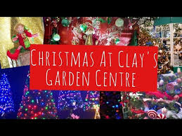 christmas decorations at clay s garden
