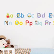 Alphabet Wall Decals Alphabet Wall Stickers Abc Wall Decals