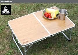 small folding picnic table
