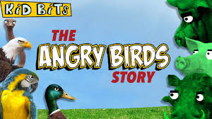 The Angry Birds Story - Kid Bits - YouTube