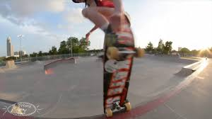 Addie Taylor Skates H-Town- Soüvenir Skateboards - YouTube