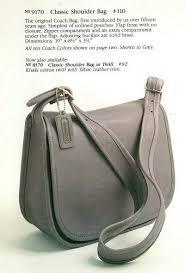 coach classic pouch shoulder bag 9170