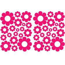 38 Hot Pink Vinyl Daisy Decals Stickers Girls Baby Dorm Room Bedroom Daisies 22inx38in Stickers Girl Decal Stickerdorm Room Aliexpress