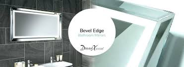 bevelled edge bathroom mirror furniture