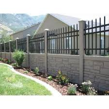 Simtek Ecostone 3 Ft H X 6 Ft W Beige Composite Fence Panel Fp36x72beg With Images Modern Fence Design Fence Design Fence Wall Design