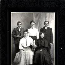 Print, Photographic - Paul & Augusta Weise, Edith Smith, Robert & Mimmie  Engelmann