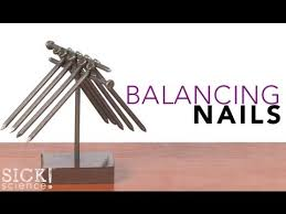 balancing nails experiments steve