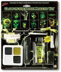 glow in the dark makeup kit glow in