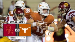 22 USC vs Texas Football Highlights ...