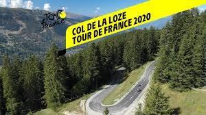 Col de la Loze - Tour de France 2020 - Vidéo Dailymotion