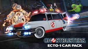 Rocket League Ghostbusters Ecto 1 Car Pack Trailer Youtube