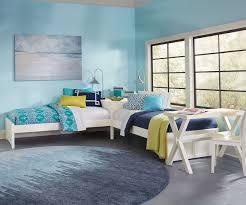 Urbana White Finish Twin Size L Shape Bed 33051n Ne Kids Furniture Kids And Teens Bedroom Furniture