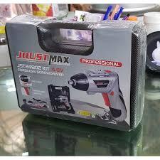 Máy khoan vặn vít dùng pin 45 chi tiết Joust Max JST24802L