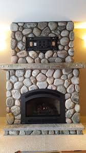 gas fireplace efficient wood gas