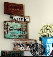 Beyond The Picket Fence Word To The Wise Pallet Art Diy Crafts Wood Diy