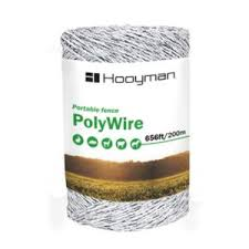Hooyman 47 In H 1 4 Acre Polywire And Fiberglass Hot Zone Electronic Food Plot Deer Protection Fence 1099105 The Home Depot
