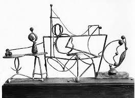 David Smith - Interior, 1937.   David smith, Sculpture art, Sculpture